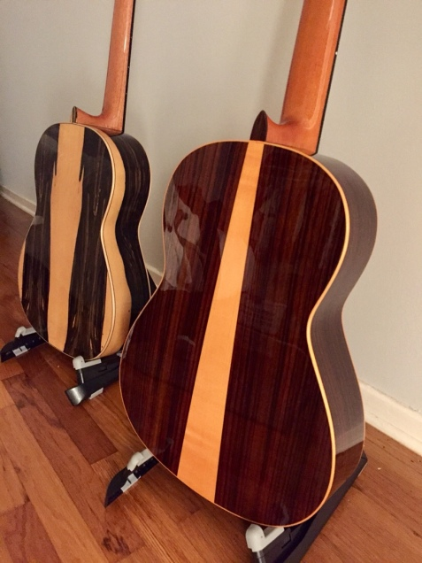 Cordoba 45 Limited Custom (left), Felipe Conde FP 14-NA Negra (right)